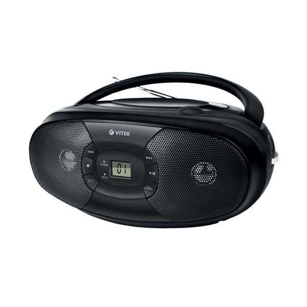 Магнитола (CD-MP3) VITEK VT-3467 BK
